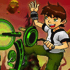 Ben 10 Bike Stunt Games