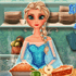 Elsa Cooking Apple Pie