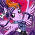 Rainbow Rocks Twilight Sparkle Rockin' Style
